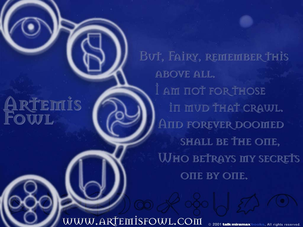official wallpapers artemis fowl fangathering