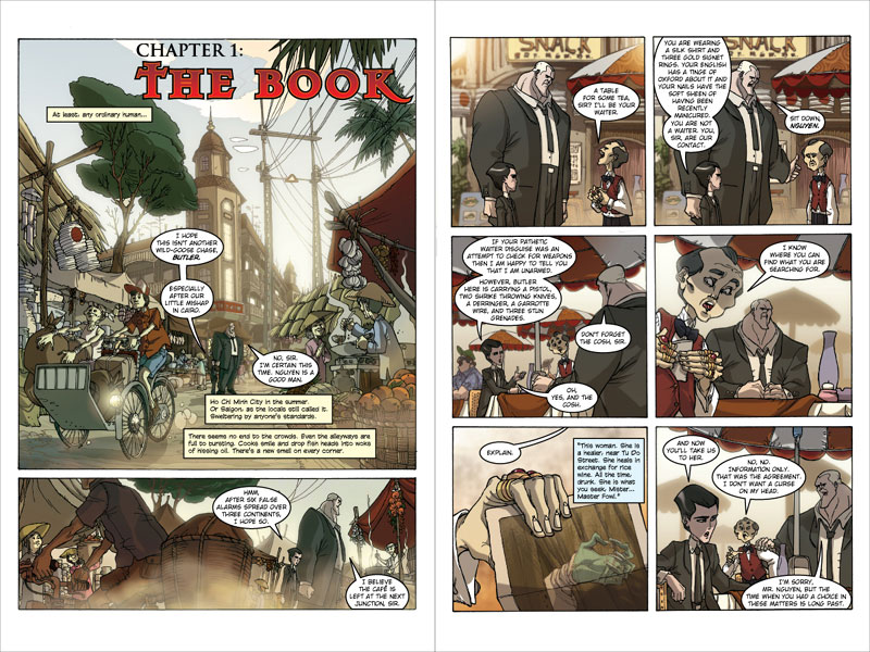 the upcoming Artemis Fowl Graphic Novel.