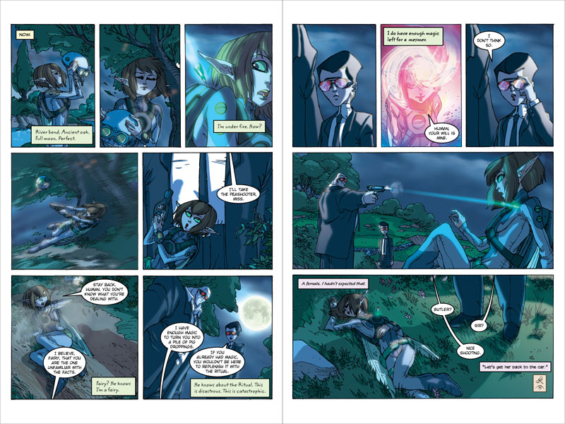 Graphic Novel Previews | Artemis Fowl FanGathering